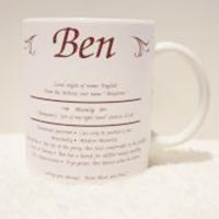 Personalised Name Meaning Mug