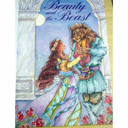 personalised book beauty beast