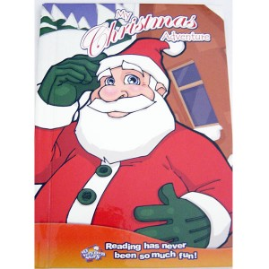 christmas adventure personalised book