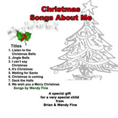 Christmas Songs About Me CD