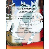 My Christmas Adventure Personalised Book