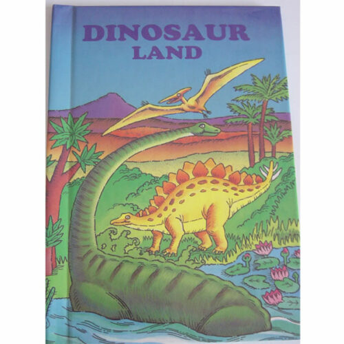 Personalised Book Dinosaur Land