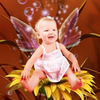 personalised fairy photo