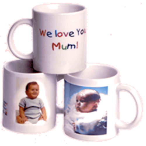 Photo Message Mugs