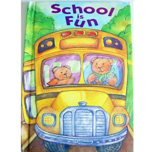 School is fun personalised book