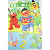 sesame street lets count personalised book