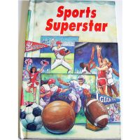 Personalised Book Sports Superstar
