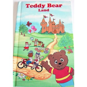 teddy bear land personalised book