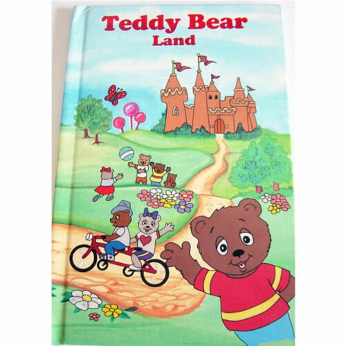 Personalised Book Teddy Bear Land