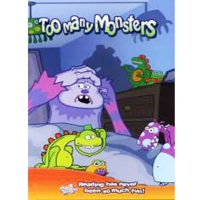 personalised book too many monsters