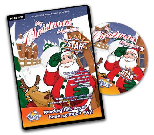 Personalised CD Christmas Adventure