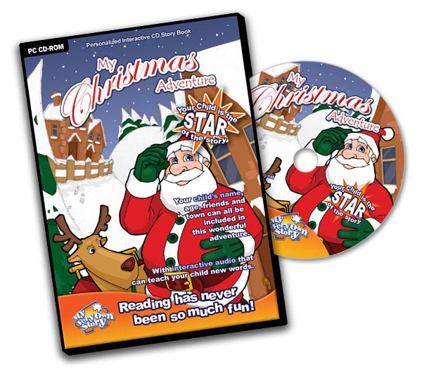 Personalised cd -My Christmas Adventure