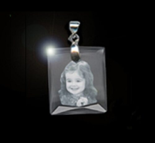 Photo Crystal Pendant