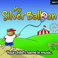 My Silver Balloon Personalised Song CD