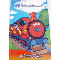 personalised book train adventure