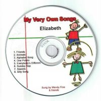 Personalised Songs CD - My Very Own Songs