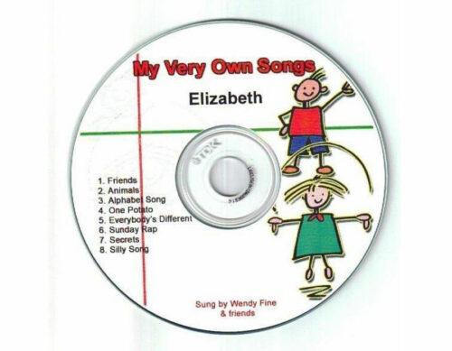 Personalised Songs CD - My Very Own Songs