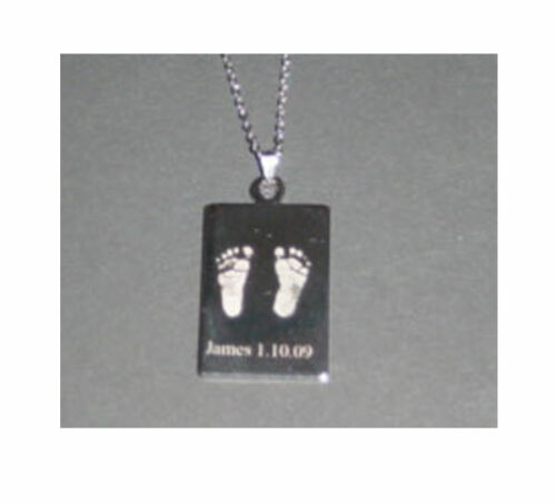 Personalised Hand/ Footprint Pendant