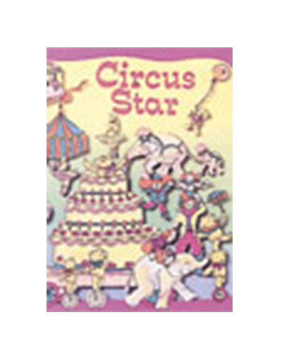 personalised book circus star