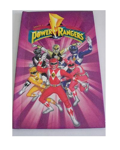 personalised book power rangers