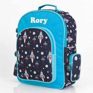 personalised backpack boys