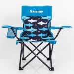 personalised camp chair boys