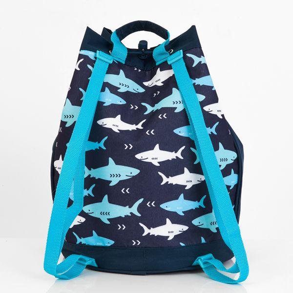 Personalised Swim Bag Sharks Boys Swim Bag Personalised