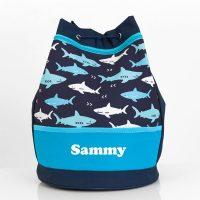 personalised swim bag boys