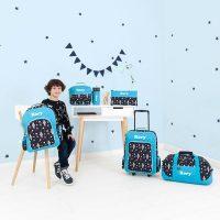 personalised luggage boys