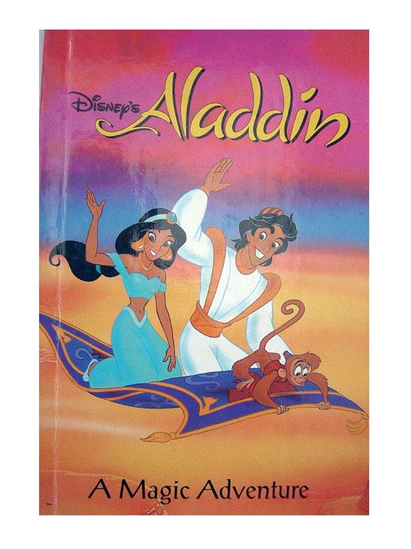 personalised book aladdin