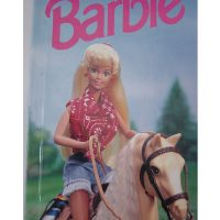personalised book barbie