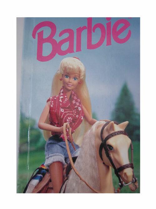 personalised book barbie
