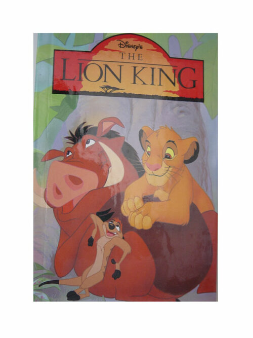 personalised book lion king