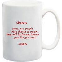 Valentine Message Mug
