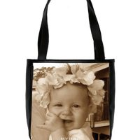 personalised photo handbag