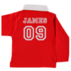 Personalised Baby Rugby Shirt