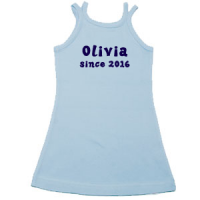 personalised girls dress