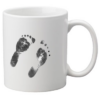 Personalised mug handprints footprints