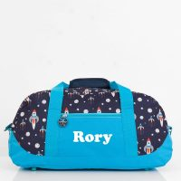 personalised duffle bag boys