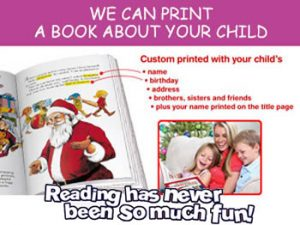 personalised kids books