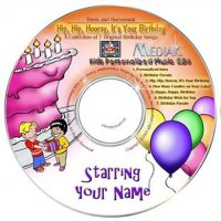 personalised childrens music cd
