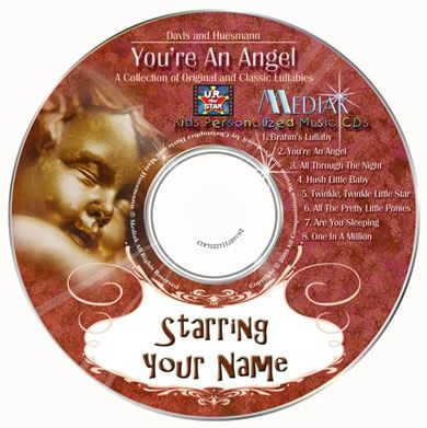 Personalised Music CD - You're an Angel