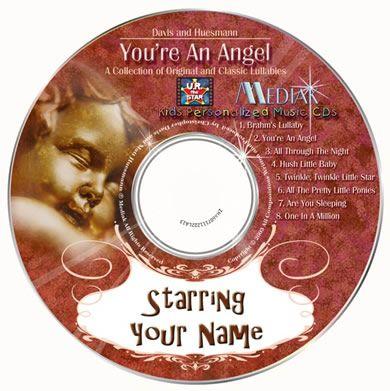 personalised kids music cd