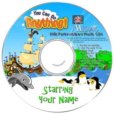 Personalised Music CD Nursery Ryhme