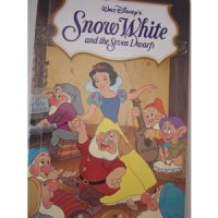 personalised book snow white