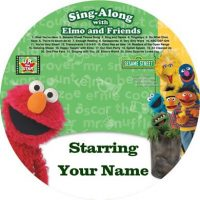 personalised elmo music cd