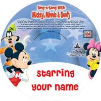 personalised mickey minnie cd