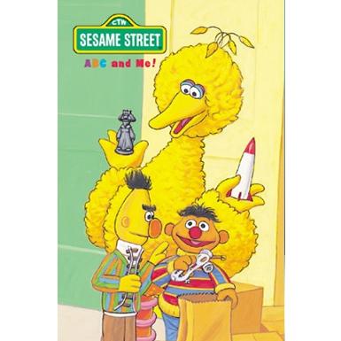sesame street abc personalised book