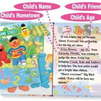 sesame street personalised book