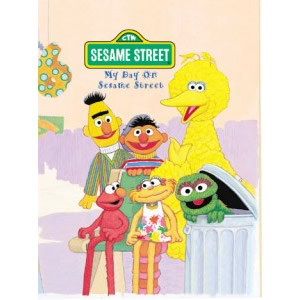 Personalised Book Sesame Street My Day